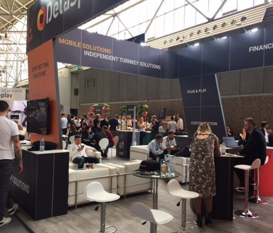 Delasport iGaming provider at IGB Live 2018