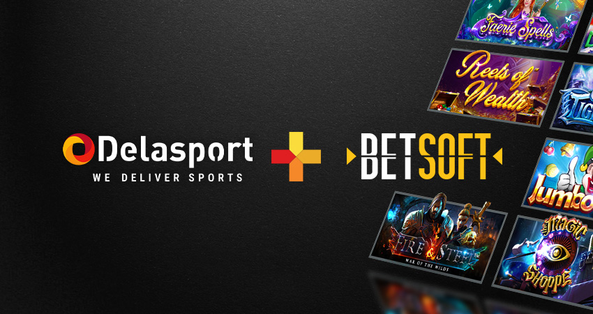 Leading Sportsbook & iGaming provider Delasport signs deal with Betsoft Gaming