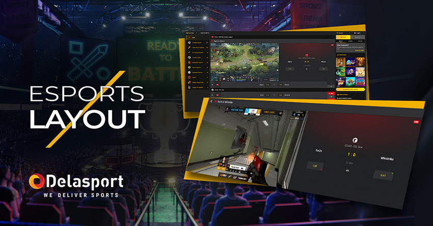 Step into the game with new Esports Layout from Delasport