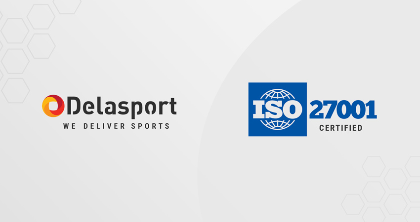 Delasport secured ISO/27001 certificate accreditation