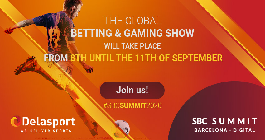 Delasport will exhibit in the upcoming SBC Digital Summit Barcelona 2020!