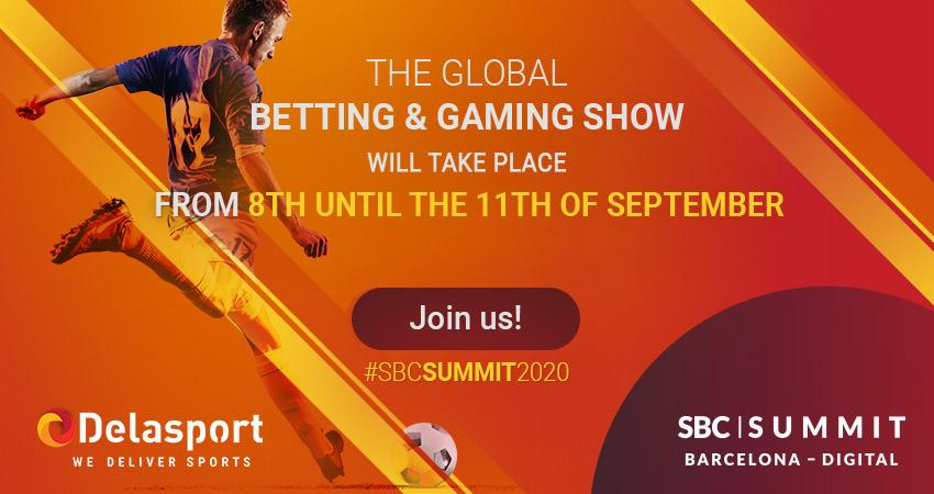 Delasport will exhibit in the upcoming SBC Digital Summit Barcelona 2020!