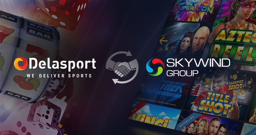 Delasport signs Skywind Group as their latest online Casino provider