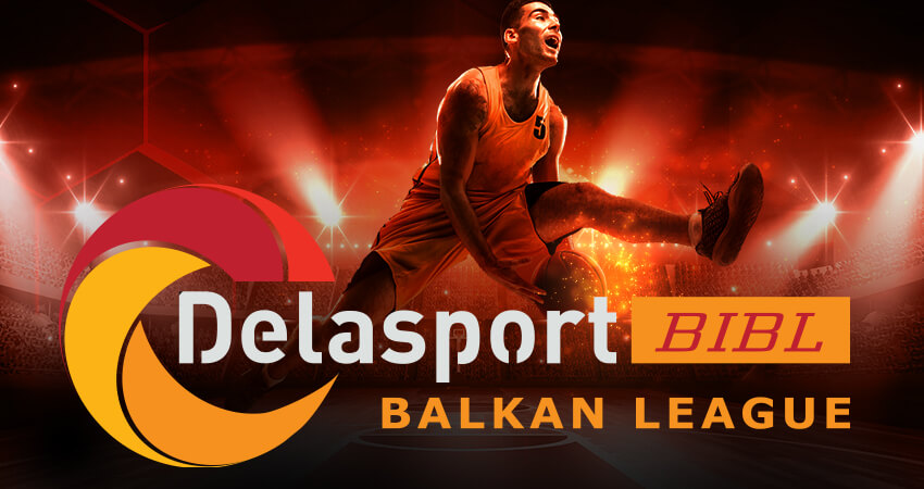 Delasport signs sponsorship deal with the Balkan International Basketball League (BIBL)