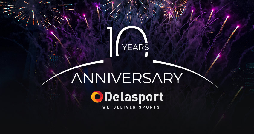 Delasport is celebrating its 10th anniversary of great achievements and growth