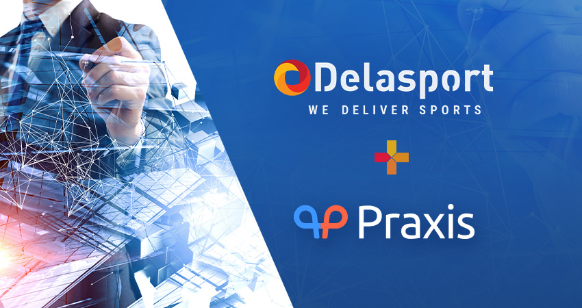 Delasport links a new strategic deal with smart cashier giant Praxis