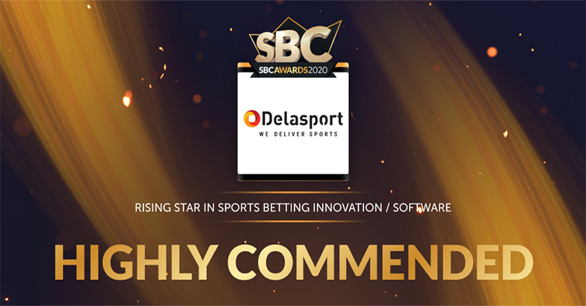 Delasport highly commended at the 7th Annual SBC Awards 2020