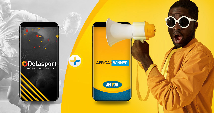 Delasport strikes a deal with MTN Group Limited for launching their new brand AfricaWinner