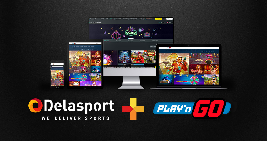 Delasport signs a deal with Play'n GO